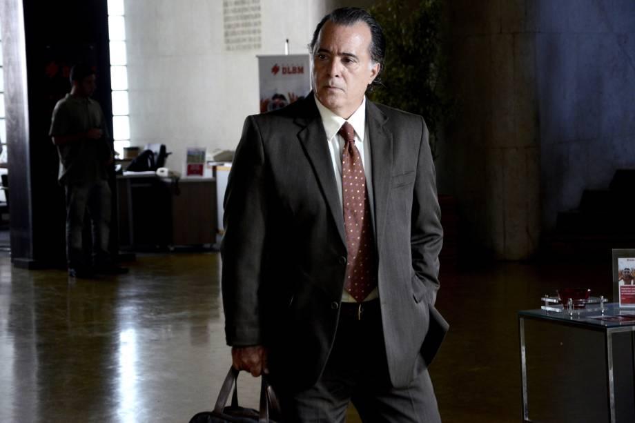 Tony Ramos na novela 'Avenida Brasil', da Rede Globo