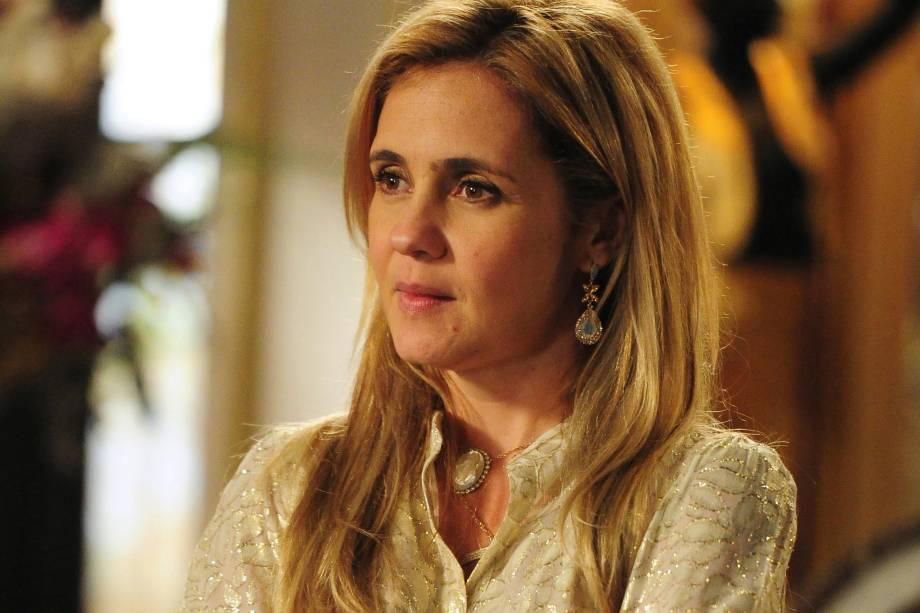 Adriana Esteves na novela 'Avenida Brasil', da Rede Globo