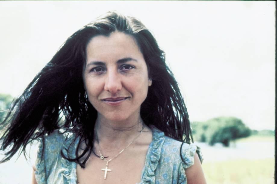 Cássia Kiss na novela 'Pantanal', da Rede Manchete