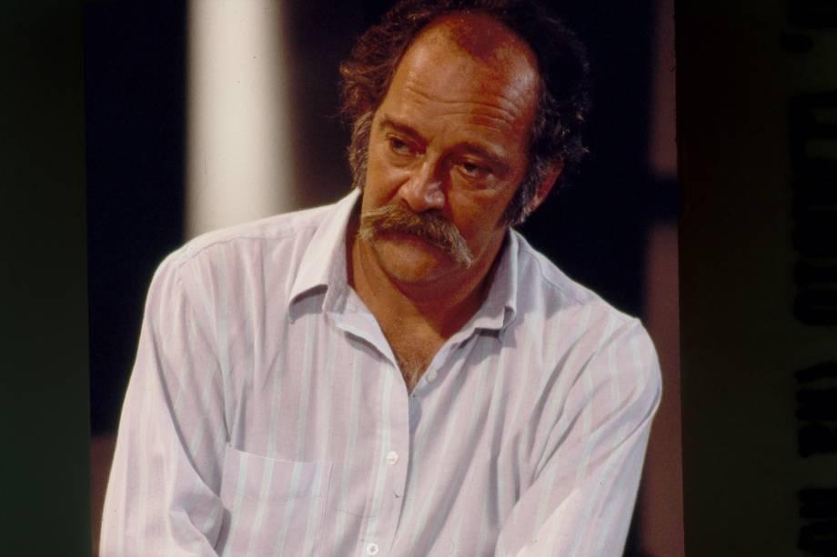 Cláudio Marzo na novela Pantanal da Rede Manchete
