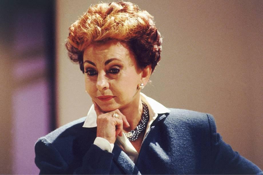 """Beatriz Segall na novela """"Vale Tudo"""", da Rede Globo."""