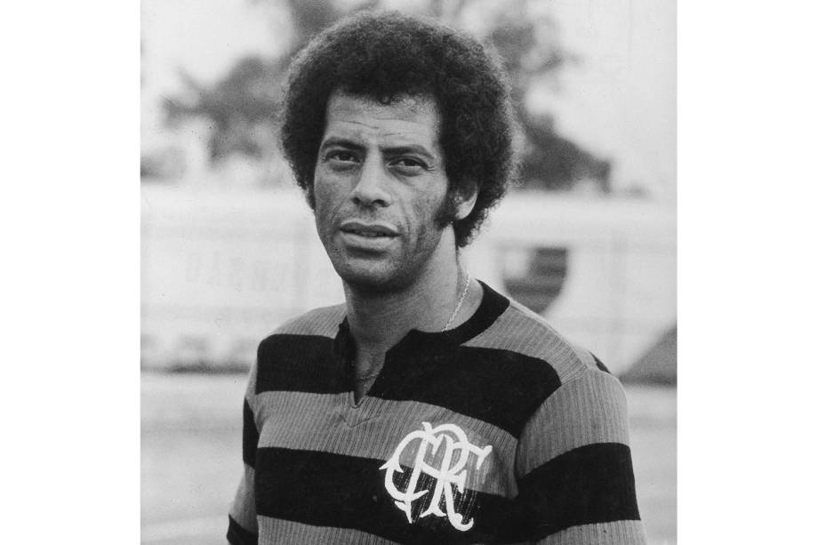 Carlos Alberto Torres, jogador do Flamengo - 1977