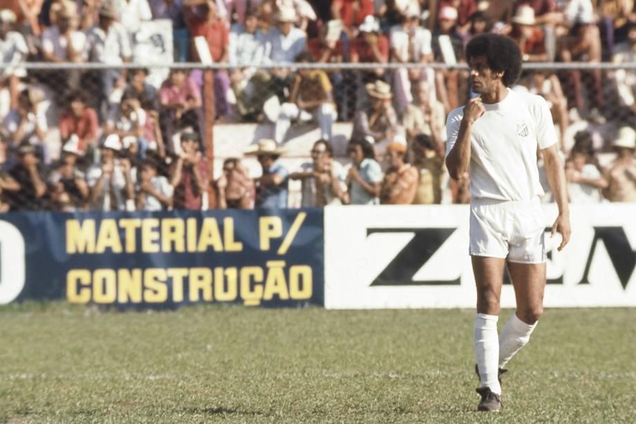 Carlos Alberto Torres, jogador do Santos Futebol Clube - 1974