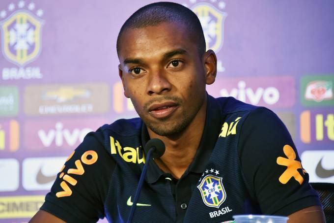 O jogador Fernandinho