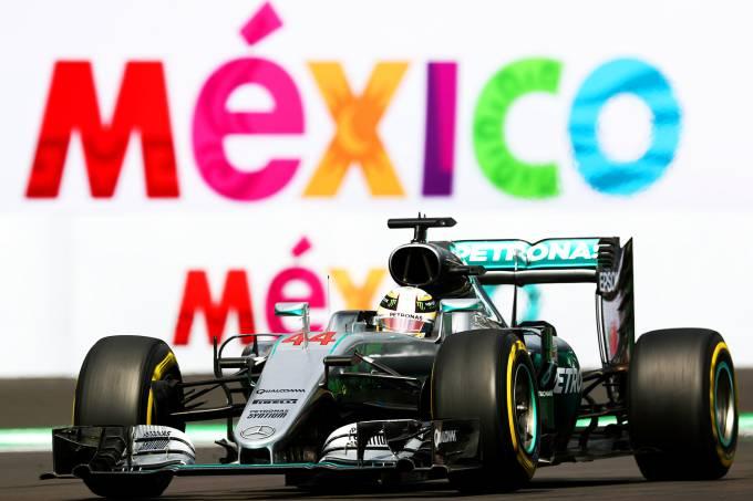 Lewis Hamilton conquista a pole-position para o GP do México de Fórmula 1