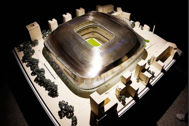 Projeto para reforma do Estádio Santiago Bernabéu, pertencente ao clube espanhol Real Madrid