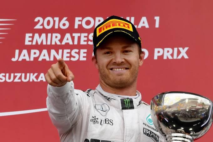 Rosberg vence o GP do Japão