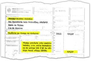 VEJA obteve o Documento de Arrecadação da Secretaria de Fazenda do Rio de Janeiro, que comprova o pagamento de 450,07 cruzados novos de fiança. O depósito foi feito em dinheiro, depois que Crivella foi preso em flagrante pelo artigo 150 do Código Penal (violação de domicílio)