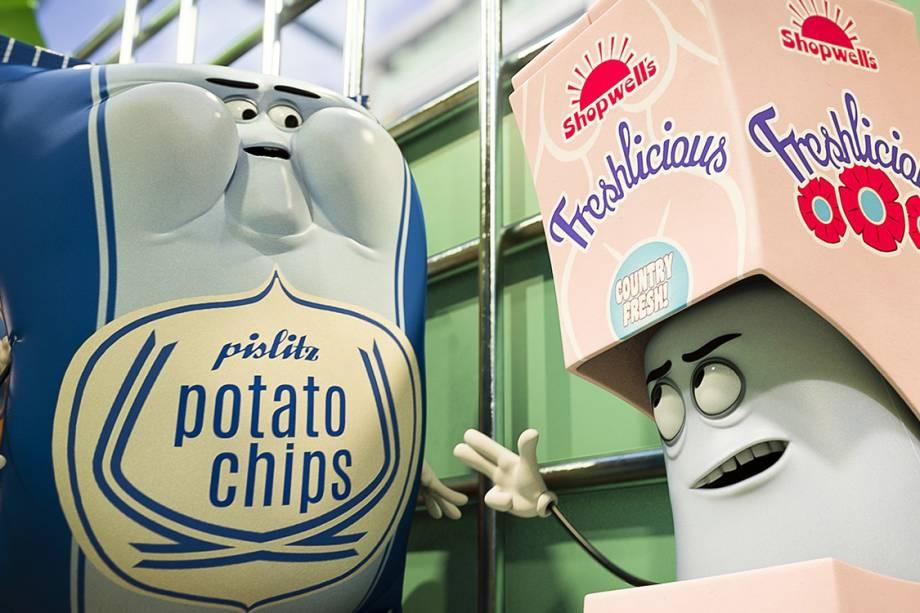 """Filme de animação """"A Festa da Salsicha"""""""