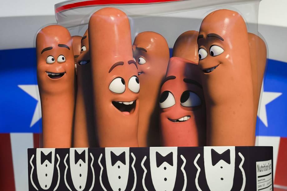A Festa da Salsicha, animação para adultos conta a história de produtor de supermercado saindo das prateleiras