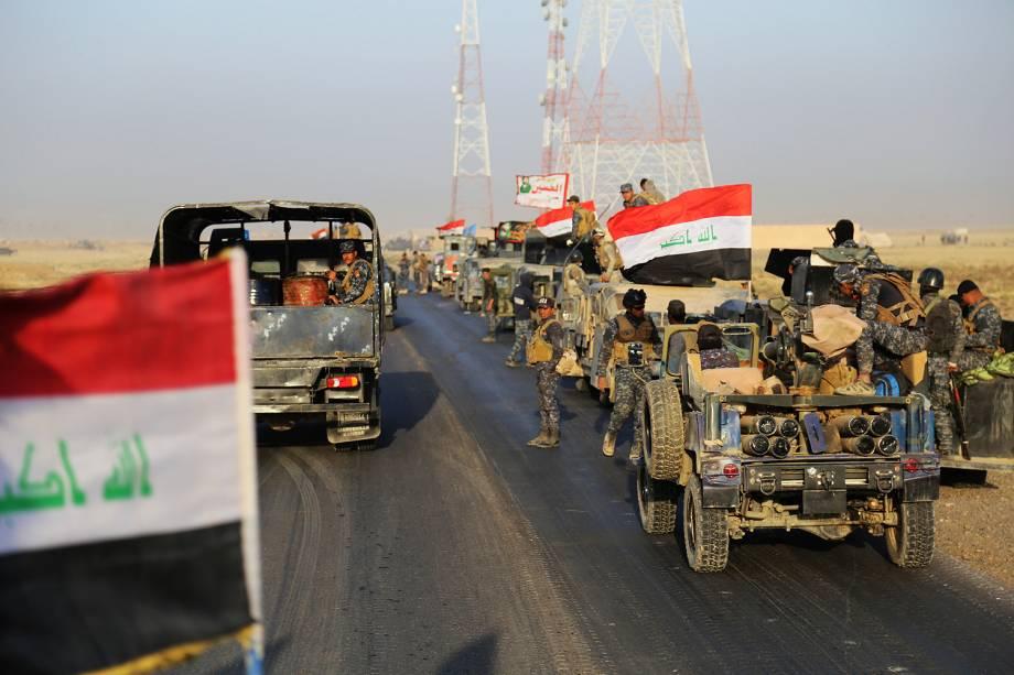 Exército do Iraque avança em Mosul, controlada pelo Estado Islâmico - 18-10-2016