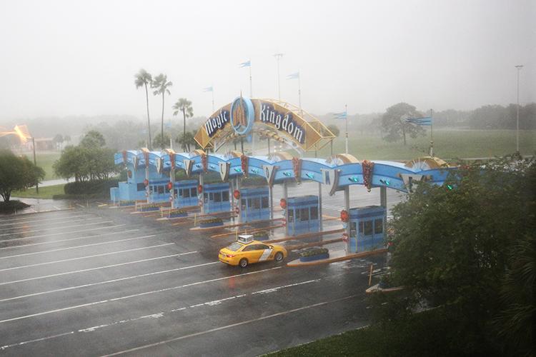Resort da Walt Disney é fechado devido a passagem do furacão Matthew, em Orlando, no estado americano da Flórida - 07/10/2016
