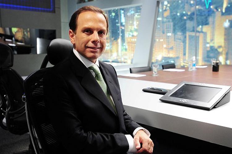 O apresentador do reality show, João Dória Jr.  - 23-05-2011
