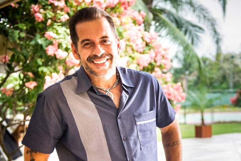 O comediante Leandro Hassum