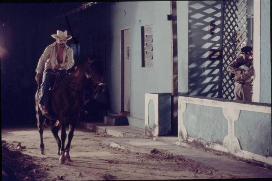 "Lima Duarte na novela ""O Bem-Amado"""