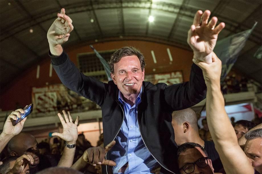 Marcelo Crivella (PRB) foi eleito prefeito do Rio - 30-10-2016