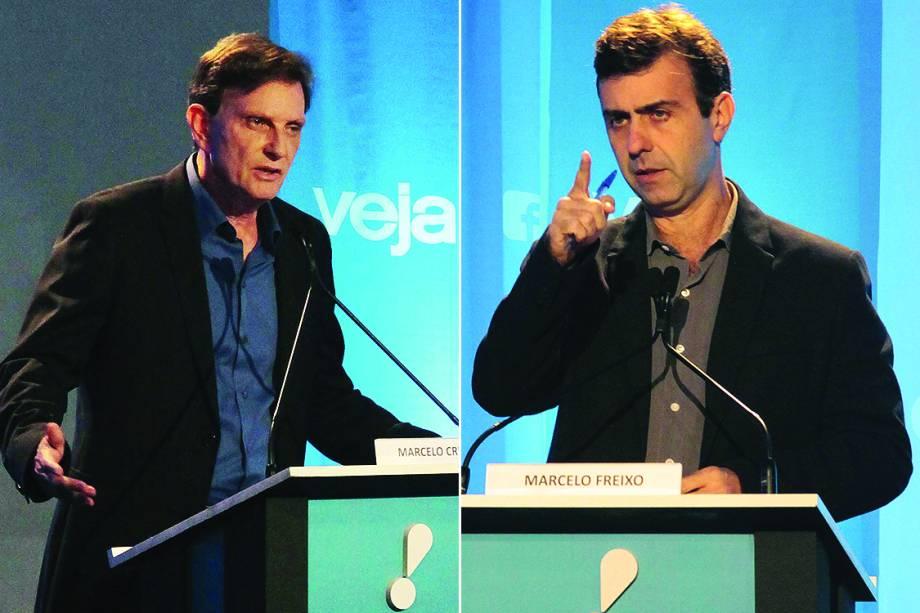Crivella e Freixo debatem no Rio