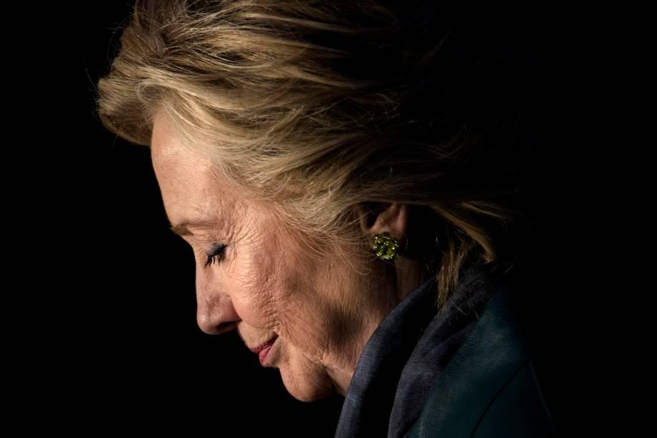 A candidata democrata à presidência dos Estados Unidos, Hillary Clinton