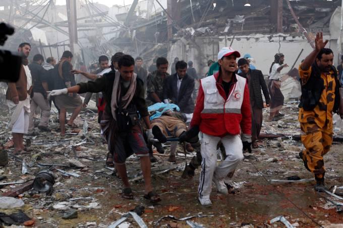 Explosão em Sanaa no Iêmen