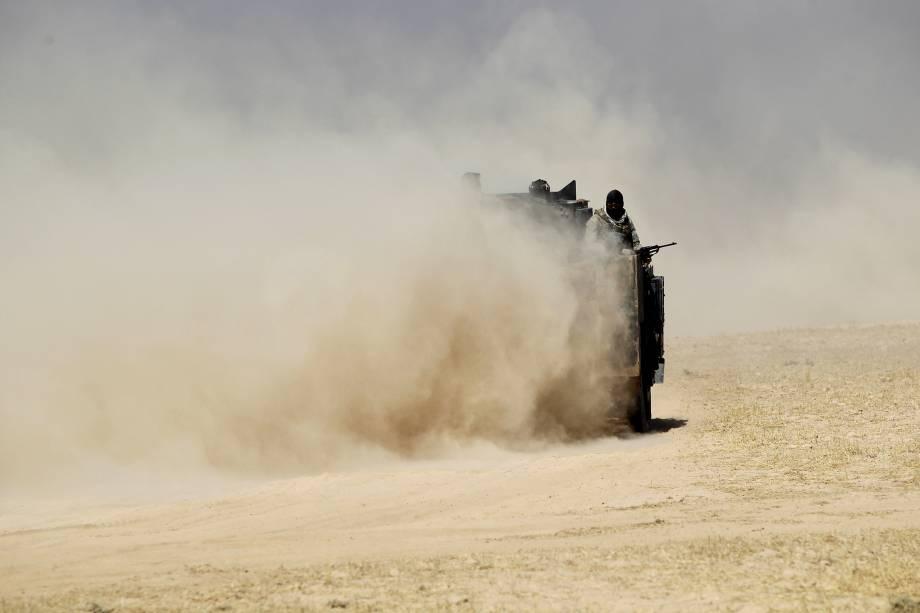 Forças iraquianas retomam aldeia de Bajwaniyah, no Iraque, durante ofensiva contra o Estado Islâmico