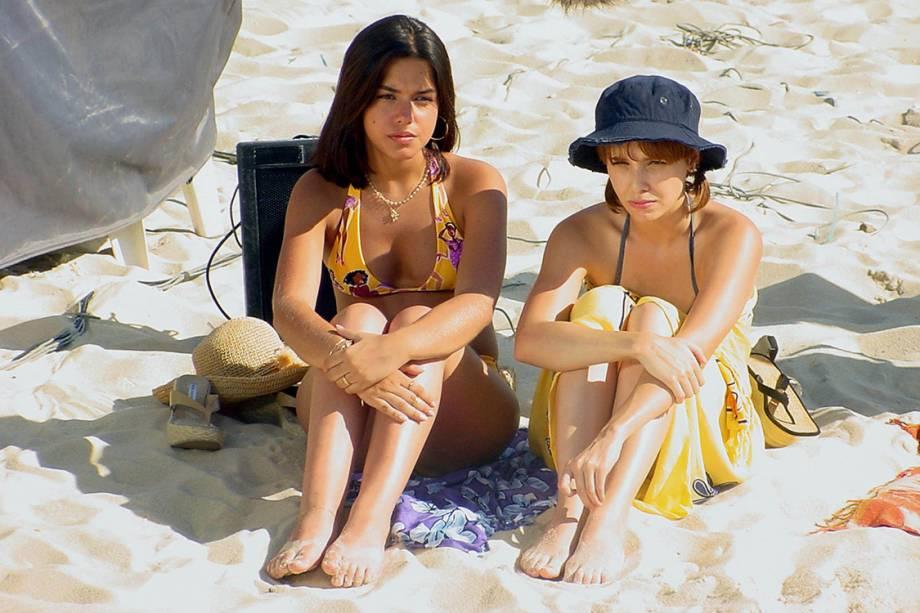 Thaís Fersoza e Débora Falabella na novela 'O Clone'