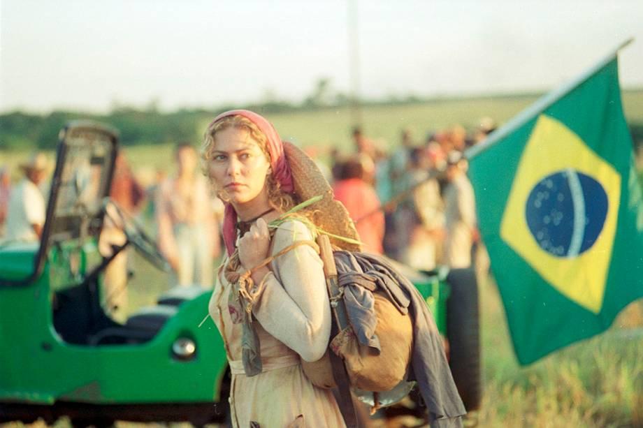 Patrícia Pillar na novela 'O Rei do Gado'