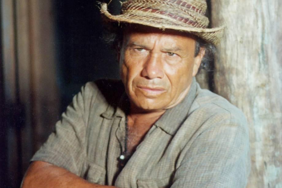 Stênio Garcia na novela 'O Rei do Gado'