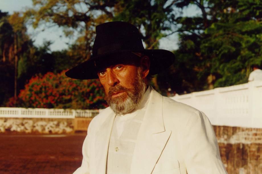 Raul Cortez na novela 'O Rei do Gado'