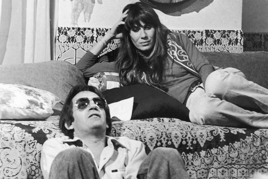 """Paulo José e Renata Sorrah na novela """"O Casarão"""""""