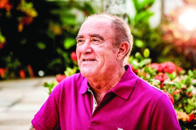 Renato Aragão participa do Vídeo Show