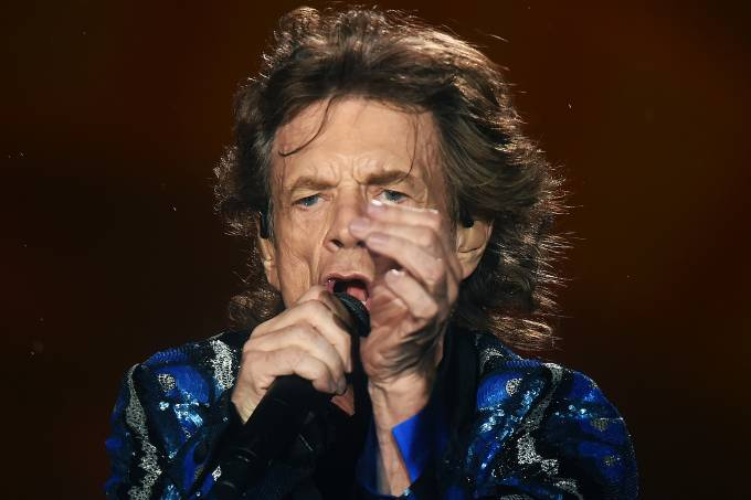 O vocalista Mick Jagger