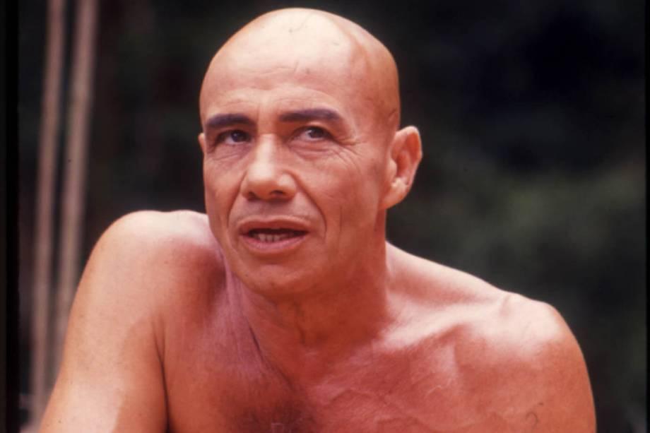 """Stênio Garcia na novela """"Que Rei Sou Eu?"""""""