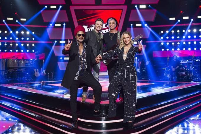 Os jurados do 'The Voice Brasil'
