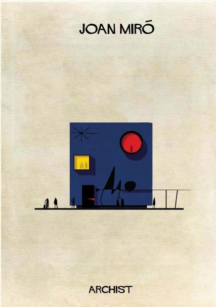 Joan Miró poderia ter projetado o edifício acima