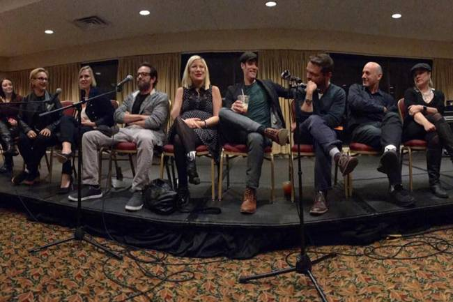 Reunião do elenco da série 'Barrados no Baile', em 2016