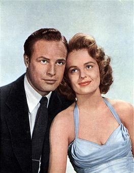 Marlon Brando e Mary Murphy em 1953