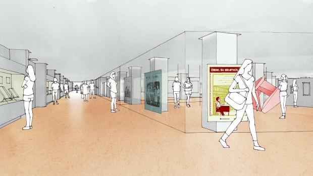 Imagem interna do futuro edifício