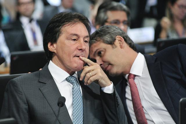 O senador Eunício Olveira (PMDB-CE), relator da PEC 241 - Foto: Geraldo Magela/Agência Senado