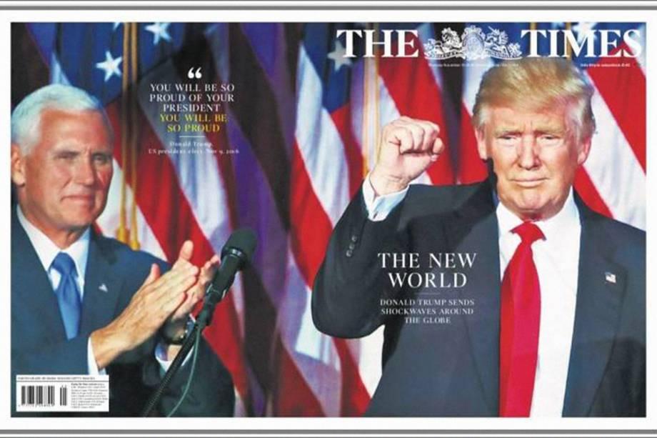 """The Times: """"O mundo novo"""""""