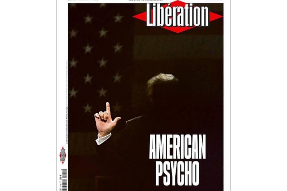 "Libération: ""Psicopata americano"""
