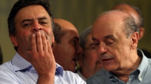 Aécio e Serra: a difícil tentativa de unir o PSDB