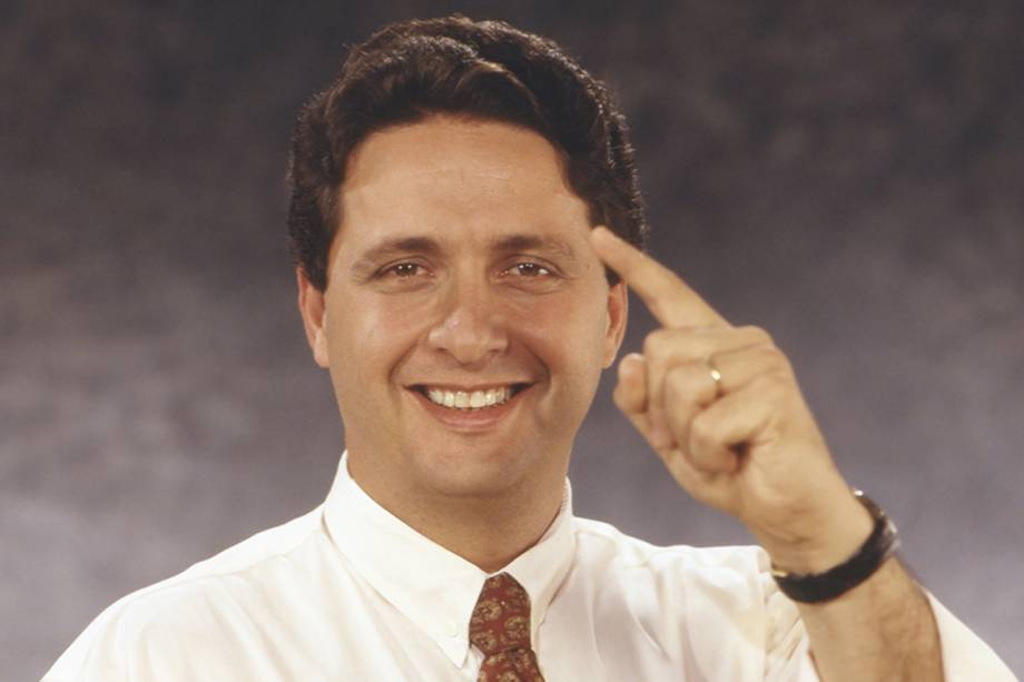 Anthony Garotinho, durante candidatura ao governo do Rio de Janeiro pelo PDT (1994)