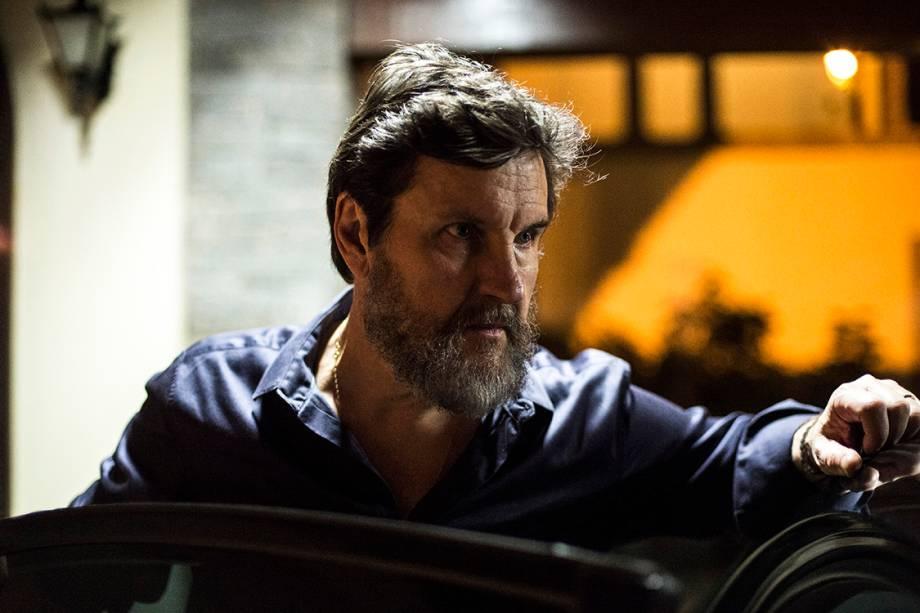 O ator Antonio Calloni na série 'Justiça'