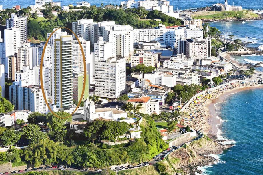 Projeto do apartamento La Vue em Salvador