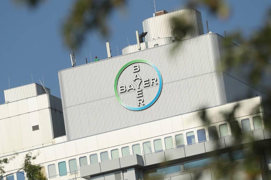 Bayer - Fachada do prédio da empresa de medicamentos alemã