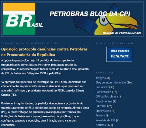 blog da CPI da Petrobras