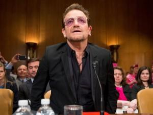 Piada feita: será que Bono quer Acabar com Amy Schumer, Chris Rock e Sasha Baron Cohen?
