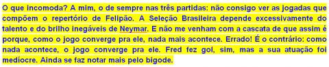 Brasil conrra Camarões