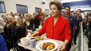 Dilma: na TV ela está melhor