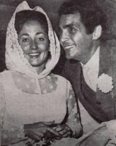 Bridget e o ator David Hedison em 1968. (Foto: site oficial do ator)